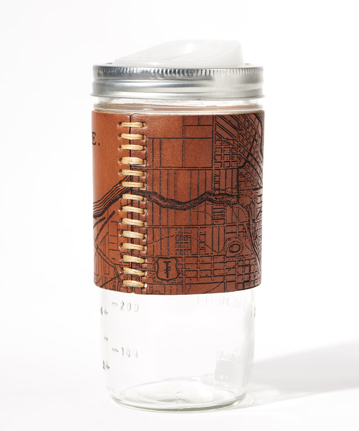 Milwaukee Map Travel Mug