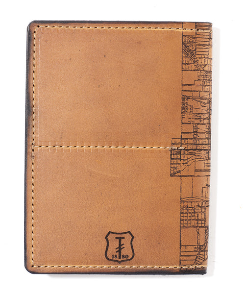 Milwaukee Map Passport Wallet