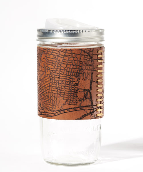 Nashville Map Travel Mug