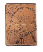 Load image into Gallery viewer, Nashville Map Passport Wallet