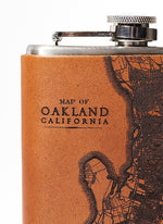 Load image into Gallery viewer, Oakland Map Flask