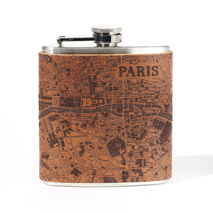 Paris Map Flask