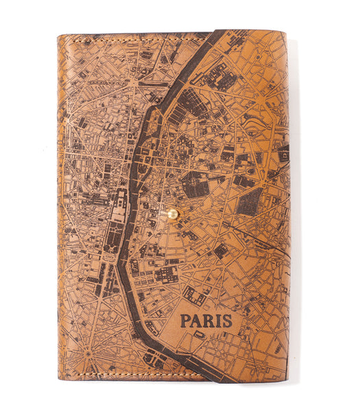 Paris Map Journal