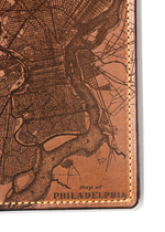 Load image into Gallery viewer, Philadelphia Map Passport Wallet