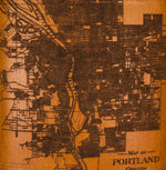 Load image into Gallery viewer, Portland, Oregon Map Flask