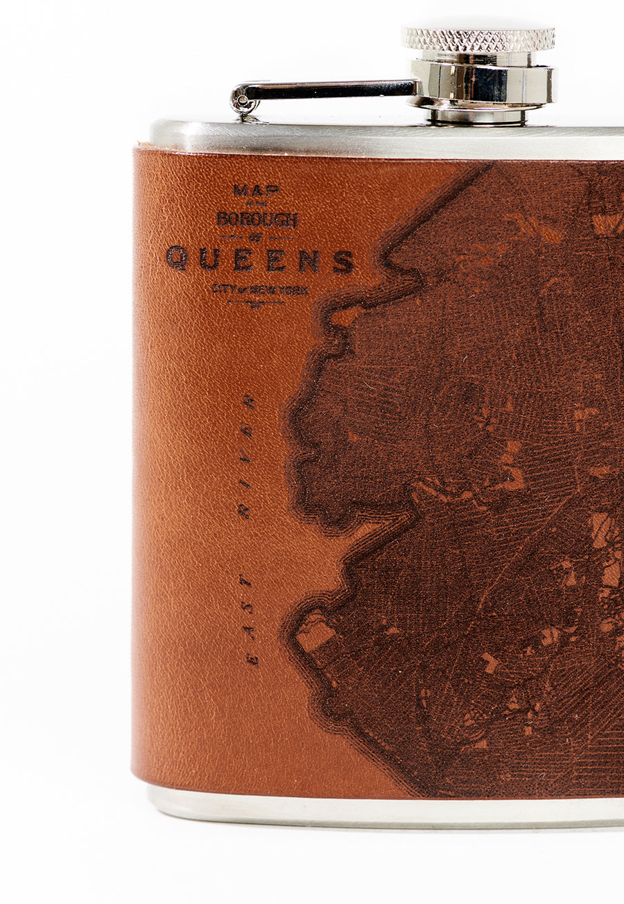 Queens Map Flask