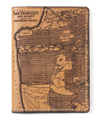 Load image into Gallery viewer, San Francisco Map Passport Wallet