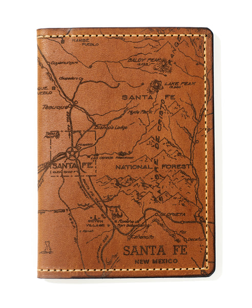 Santa Fe Map Passport Wallet