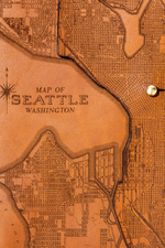 Load image into Gallery viewer, Seattle Map Journal