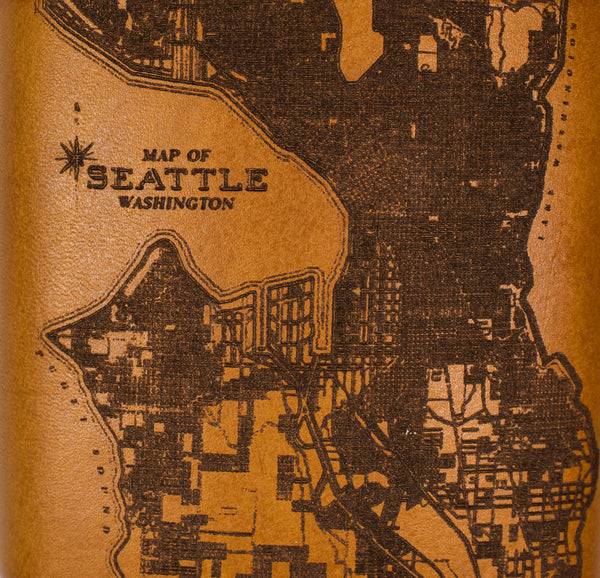 Seattle Map Flask