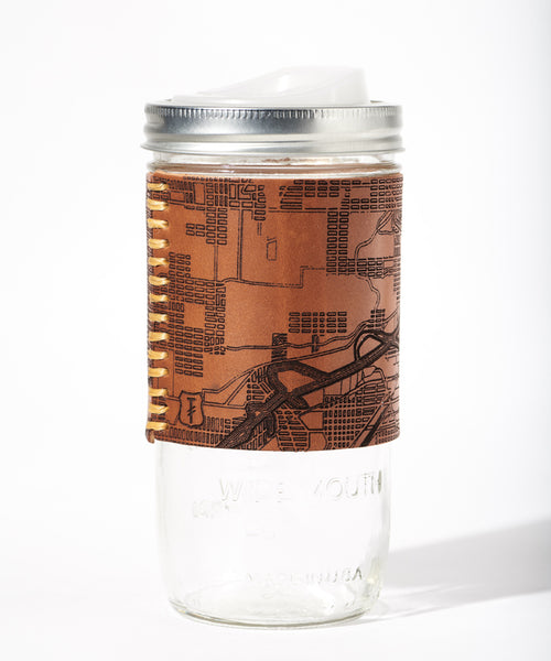 Seattle Map Travel Mug