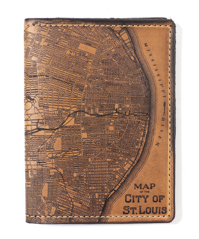 St. Louis Map Passport Wallet