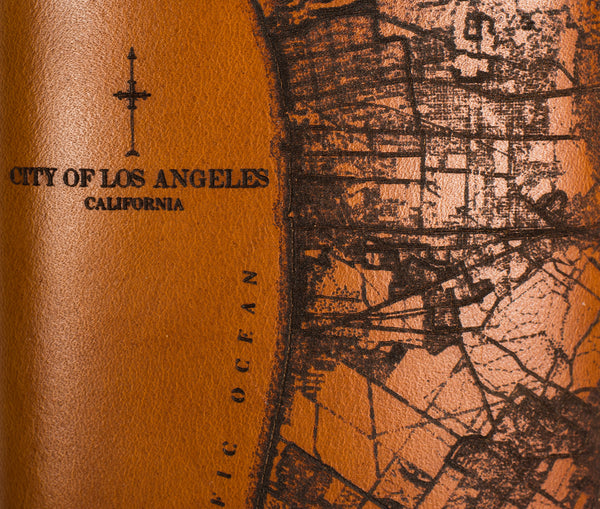 Los Angeles Map Flask