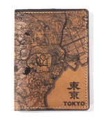 Load image into Gallery viewer, Tokyo Map Passport Wallet