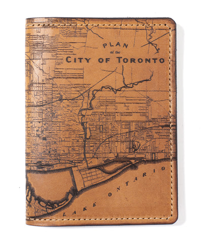 Toronto Map Passport Wallet