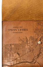 Load image into Gallery viewer, Twin Cities Map Clutch
