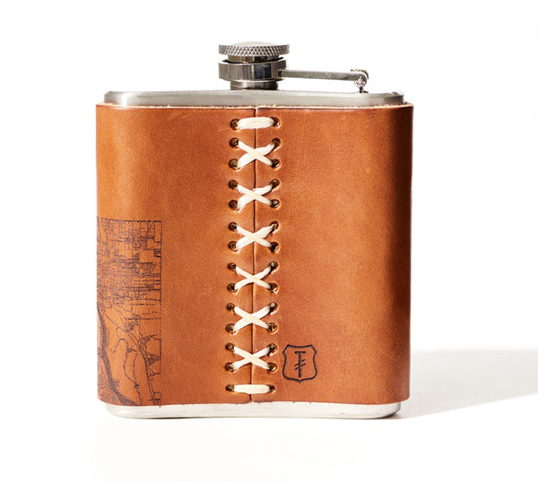 Twin Cities Map Flask
