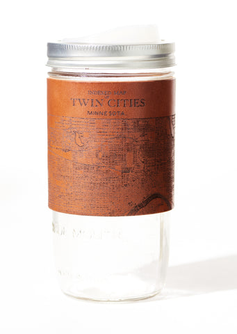 Twin Cities Map Travel Mug