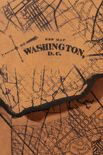 Load image into Gallery viewer, Washington DC Map Clutch