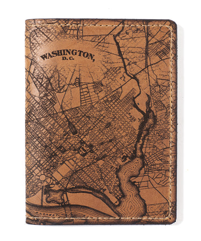 Washington, D.C. Map Passport Wallet