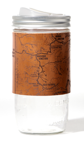 Yellowstone National Park Map Travel Mug