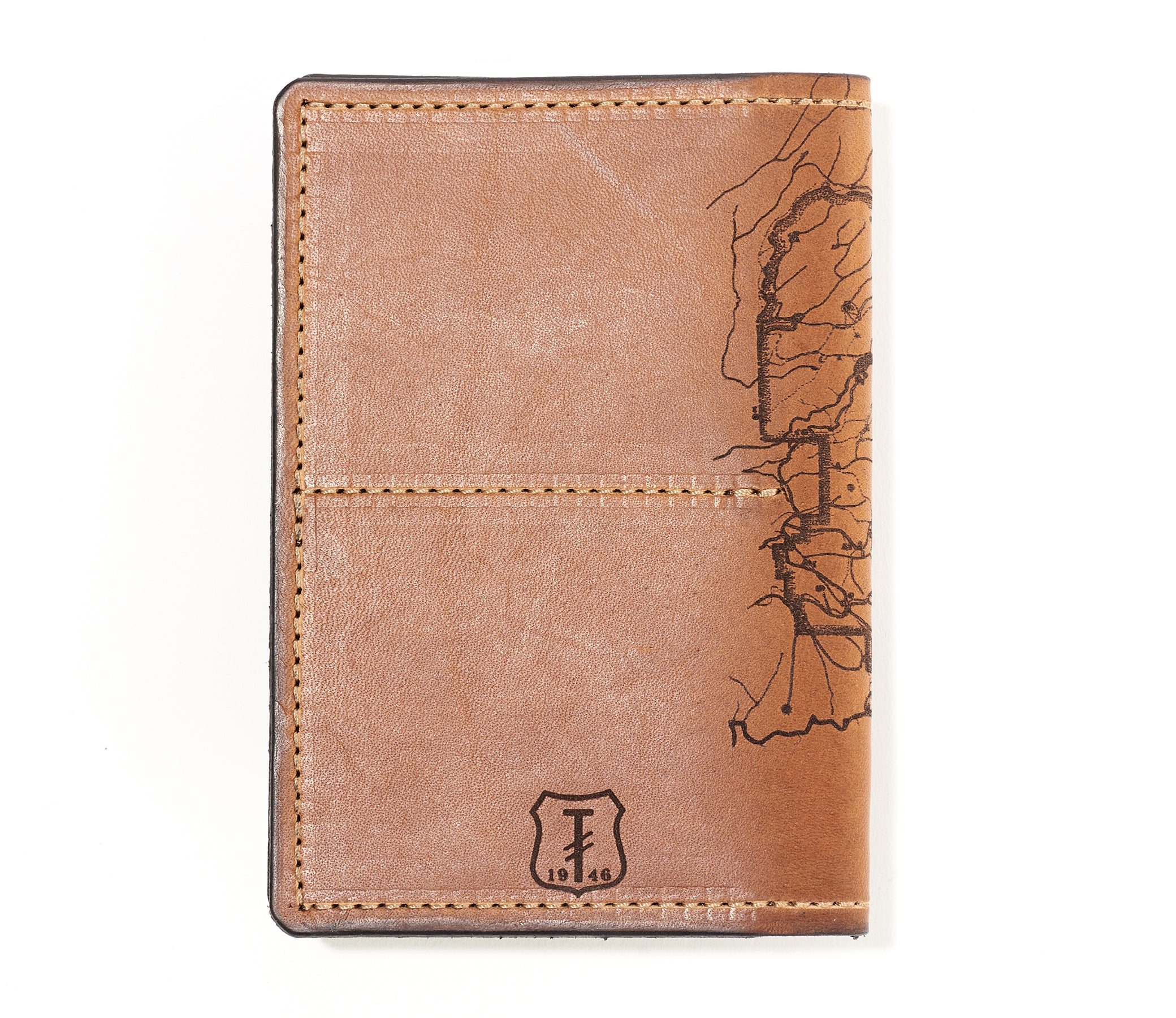Yosemite National Park Map Passport Wallet