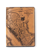Load image into Gallery viewer, Portland, Maine Map Passport Wallet
