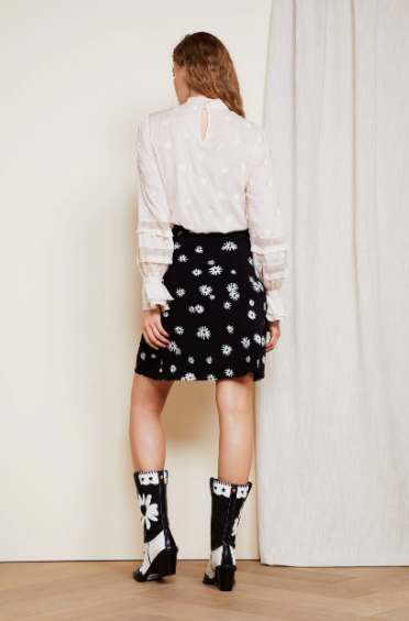 Fabienne Chapot Short Skirt Miss Daisy
