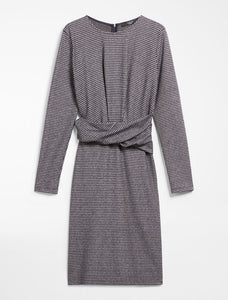 Max Mara Weekend Flannel Jersey Kleid