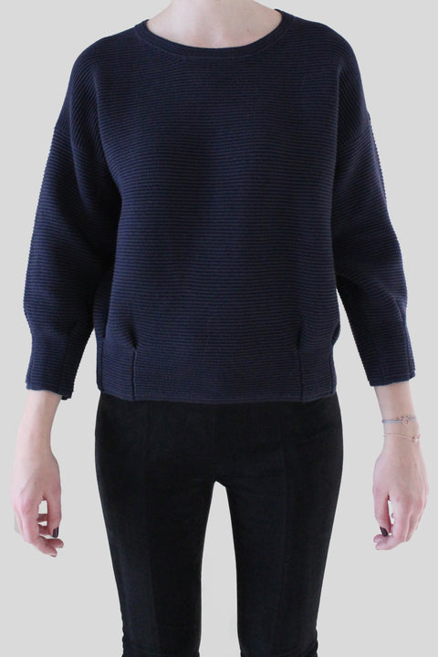 French Connection gerippter Pullover