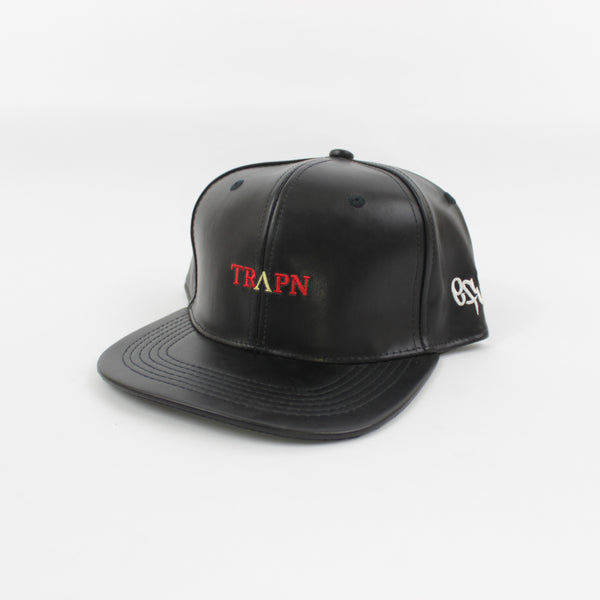 TRAPN Leather Snapback