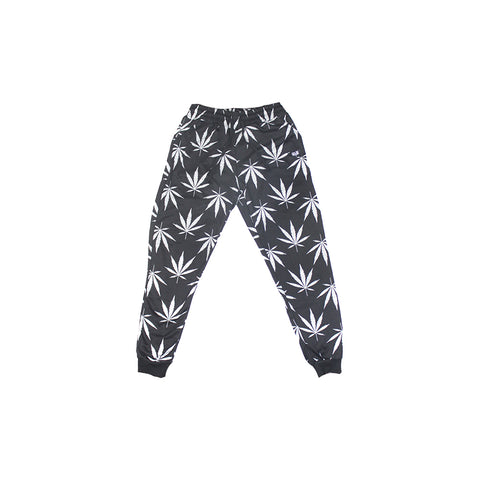 420 Black & White Sweatpants