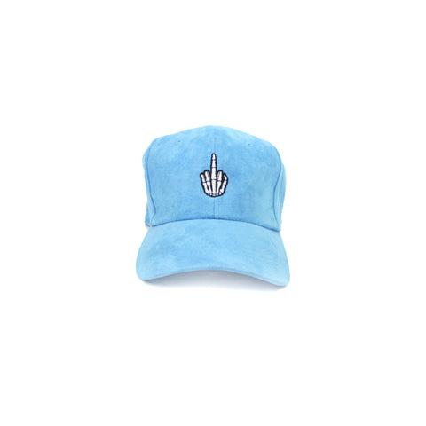 Baby Blue Suede Efue Sports Hat