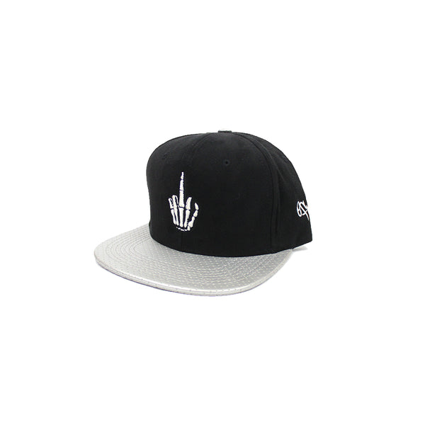 Efue Black & Silver Snap Back