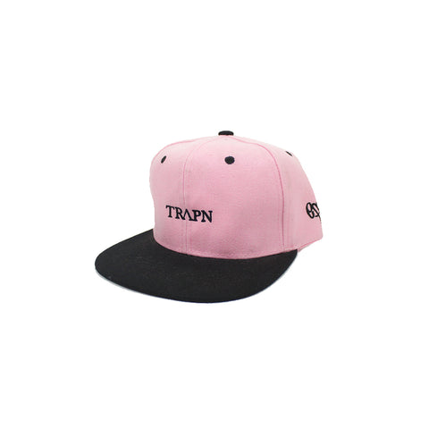 TRAPN Black & Pink Snap Back