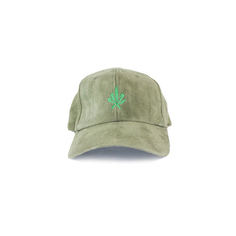 420 Green Suede Sport Hat