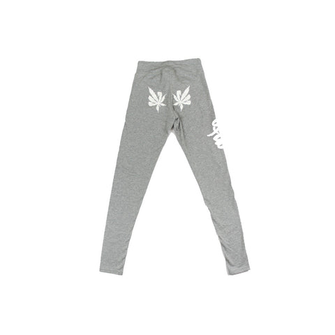 420 Logo Leggings in Heather Gray