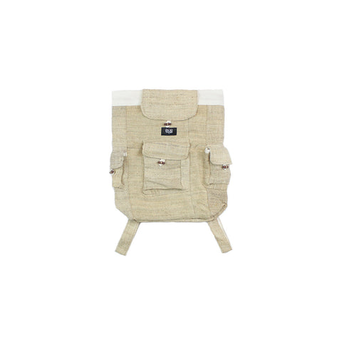 Beige Hemp Backpack