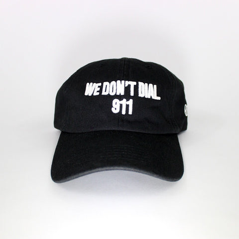We Don't Dial 911 Black Sport Hat