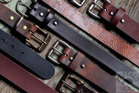 Buffalo Leather Belts