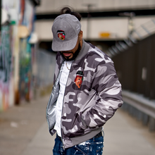 Bomber Jacket (Cool Grey Camo)