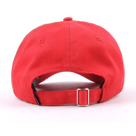 Distressed Goat Head Cap (Red)