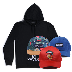 French Terry Hoodie + Any 3 Hats