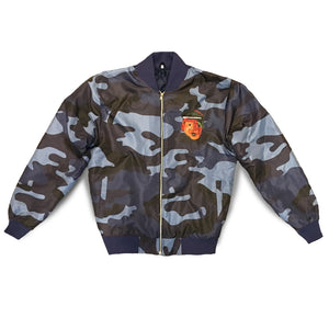 Bomber Jacket (Blue Camo)