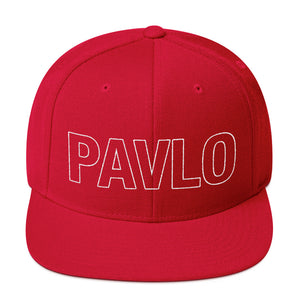 MBP Outline Snapback (Red)