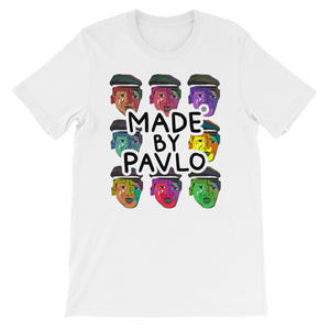 Pop Art Inspired T-Shirt (White)