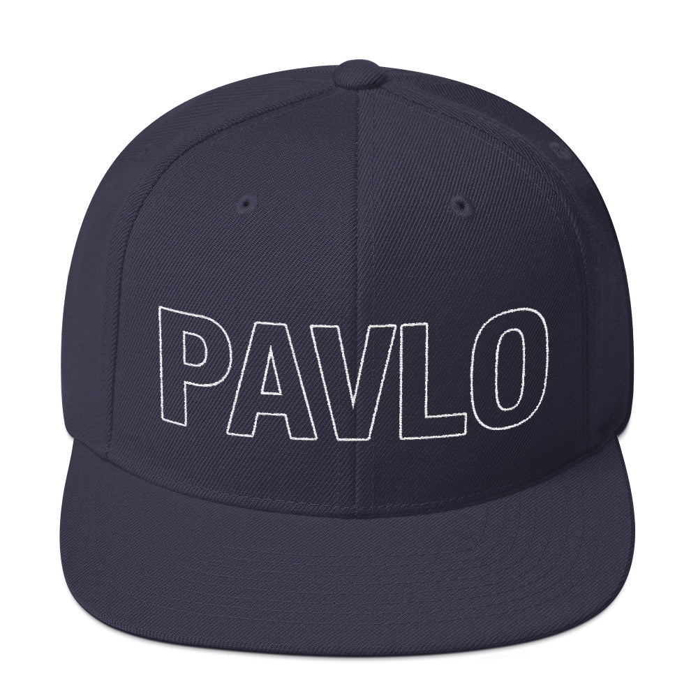 MBP Outline Snapback (Navy)