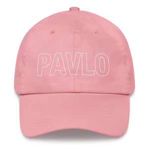 MBP Outline Dad Hat (Pink)