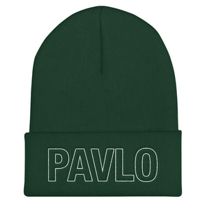 MBP Outline Cuffed Beanie (Spruce)