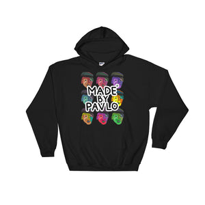 Pop Art Inspired Hoodie (Black)